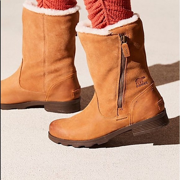 7852b6a94cb9d0 Sorel Shoes | Free People Emelie Foldover Waterproof Boots | Poshmark